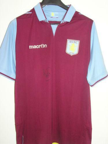 Aston Villa Signed Shirt