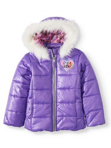Paw Patrol Toddler Girl Winter Jacket Coat-Purple Size 5 (NWT) Clothing, Shoes & Accessories