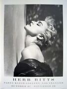 Herb Ritts Poster