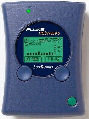 Fluke Networks Linkrunner The Industry Standard. Super Fast Troubleshootn