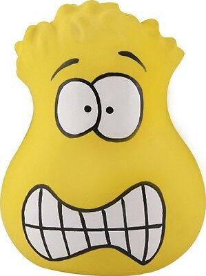 Grand Star Crazy Face Gel Filled Stress Ball Crazy Face Yellow (Star Stress Ball)