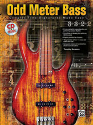 Odd Meter Bass; Emmons, Timothy, Bass Guitar Teaching, ALFRED - 25578