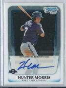 2011 Bowman Chrome Hunter Morris