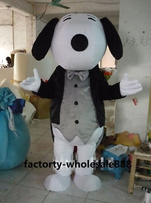 Easter Giant dog Mascot Costume movie outfits dress cos party game  Adults Suit