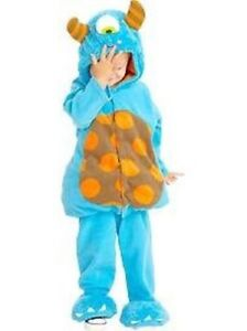 Blue Monster Halloween Costume for Toddlers/Young Children