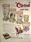 Libbey Circus Glasses