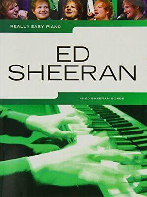 Really Easy Piano Ed Sheeran Book New Paperback Book