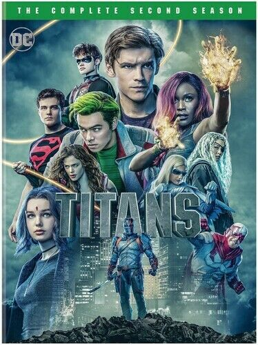 Titans: The Complete Second Season [new Dvd] 2 Pack