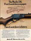 Marlin Vintage Hunting Advertisement