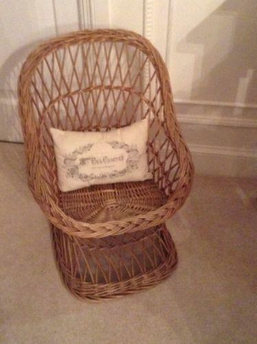 Childs Wicker Chair Ebay