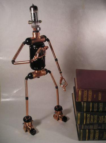 Robot Sculpture Ebay