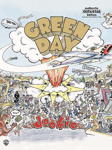 Green Day Dookie Learn to Play CHUMP Punk Rock Guitar TAB Music Book