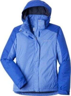 - Columbia Women Winter Insulated Hooded Omni-Shield  Jacket Coat Ski New