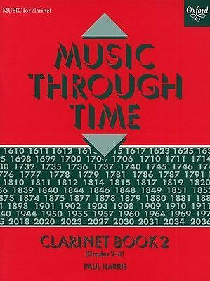 Music Through Time Clarinet Book 2 Grades 2-3 Piano Accomp Music Harris