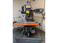 XYZ KRV PRO 2000 CNC 3 AXIS TURRET MILLING MACHINE
