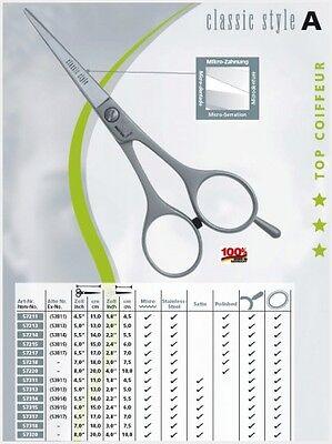 """Kretzer Hair Classic Style A 557214  5.5""""/14cm Scissors~Shea"""