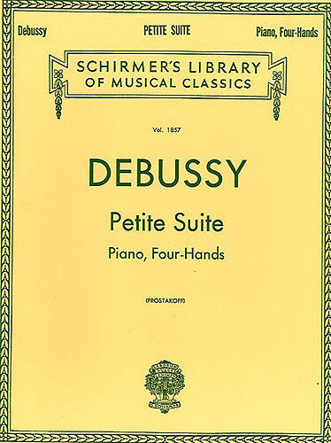 Debussy Petite Suite For One Piano Four Hands Learn to Play Classical Music Book