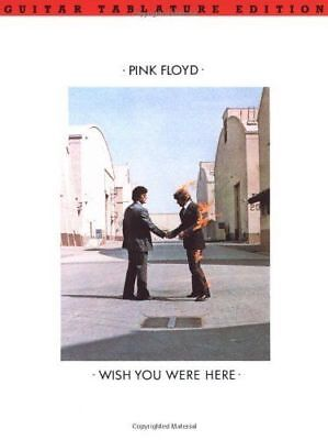 Pink Floyd Wish You Were Here guitar Tab book
