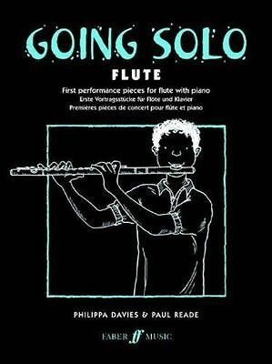 Going Solo Flute-Philippa Davies & Paul Reade - NEW