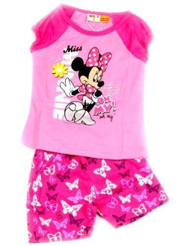 Girls Minnie Mouse Pyjamas Ebay