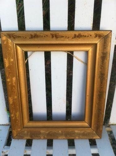 Antique Gold Leaf Frame Ebay