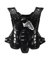 New Adult Acerbis Profile Body Armour Motocross Neck Brace Compatible Black