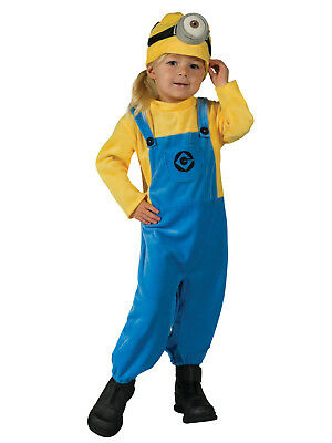 Toddler Minion Mel Costume Despicable Me Minions Toddler Size 2-4T](Minion Costume 4t)