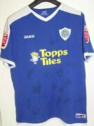 Leicester City Signed Shirt