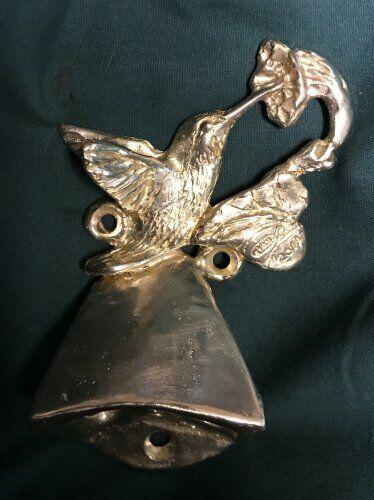 HUMMINGBIRD Wall Mounted Bottle Opener in Bronze