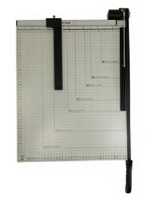 Paper Cutter - 15 X 12 Inch - Metal Base Trimmer New