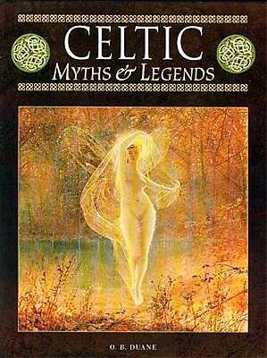 Celtic Myths & Legends Warriors Wizards Fairies Art Ireland Britain Rome RARE XL