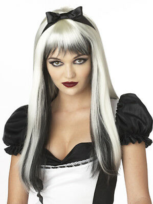 Dark Alice Long Blonde Wig Halloween Costume - Dark Alice Halloween Costume