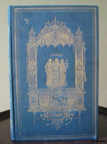 Odd Fellows Offering 1848 Book - Antique Vintage Ritual and Degrees Fraternal