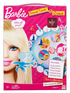Barbie charmed travels game by mattel, W5898