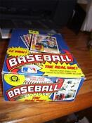 1984 O Pee Chee Baseball Box