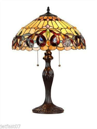 Arts And Crafts Stained Glass Lamp Shades