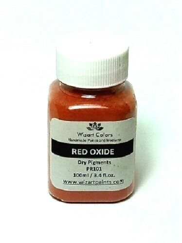 Red Iron Oxide Pigment Powder for craft and Art Mixed Media Painting and Cement