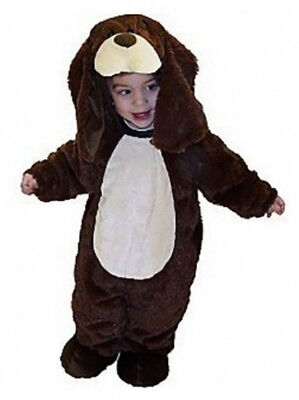 Infant Baby Brown Puppy Dog Halloween Costume 0-6 Months NEW Jumper Cute  - Puppy Dog Infant Halloween Costumes