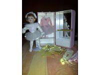 My Little Ballerina... Ashton Drake Doll & costumes