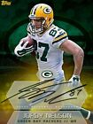 Jordy Nelson Autograph Football Cards