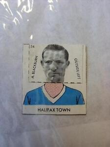 1961-DC-Thompson-Club-Colours-Cut-Out-Halifax-Town-A-Blackburn-No-obvious-fa