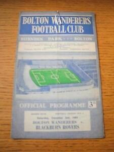 02-12-1961-Bolton-Wanderers-v-Blackburn-Rovers-Creased-Folded-No-obvious-f