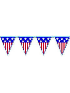 American Flag Pennant Banner USA Party Decoration