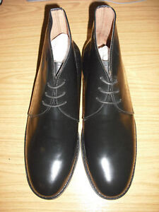 BLACK-LEATHER-GEORGE-BOOTS-FOR-MESS-DRESS-FUNCTIONS-LEATHER-INSOLES-AND-OUTSOLES