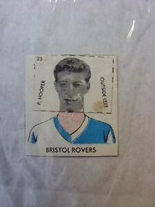 1961-DC-Thompson-Club-Colours-Cut-Out-Bristol-Rovers-P-Hooper-No-obvious-fau