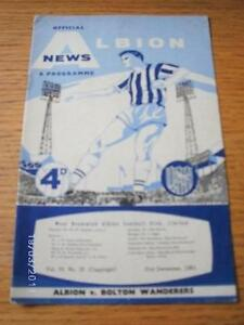 21-12-1963-West-Bromwich-Albion-v-Bolton-Wanderers-Creased-Pin-Hole-No-obv
