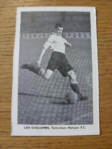 1948-1949-Sporting-Mirror-Cut-Out-Tottenham-Hotspur-Duquemin-L-3-x-5-No