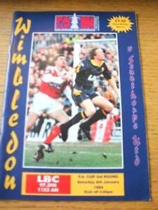 08-01-1994-Wimbledon-v-Scunthorpe-United-FA-Cup-Team-Changes-No-obvious-fau