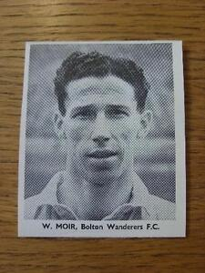 1948-1949-Sporting-Mirror-Cut-Out-Bolton-Wanderers-Moir-W-3-x-3-No-obvi
