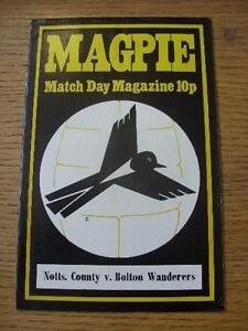 15-03-1975-Notts-County-v-Bolton-Wanderers-No-obvious-faults-unless-descript